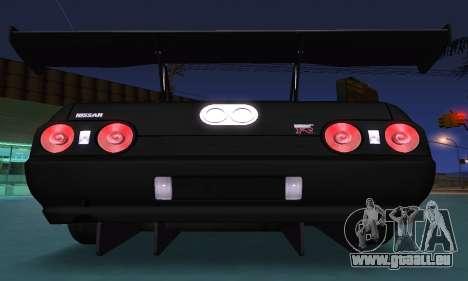 Nissan Skyline R32 GT-R für GTA San Andreas Seitenansicht