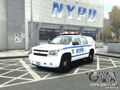 Chevrolet Tahoe NYCPD pour GTA 4