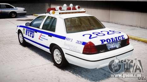 Ford Crown Victoria NYPD pour GTA 4 est un droit