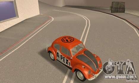 Volkswagen Beetle 1963 pour GTA San Andreas