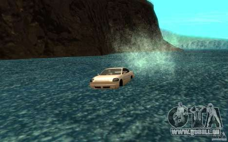Alpha boat pour GTA San Andreas