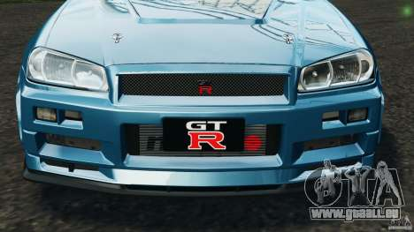 Nissan Skyline GT-R R34 2002 v1.0 pour GTA 4 roues