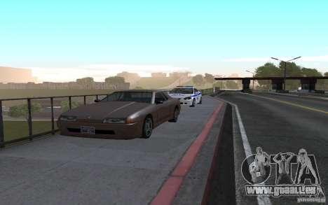 Polizei auf der Brücke von San Fiero_v. 2 für GTA San Andreas