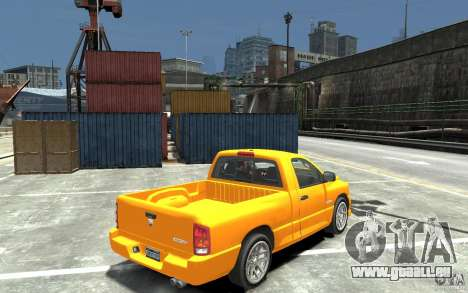 Dodge Ram SRT-10 v.1.0 pour GTA 4 est un droit