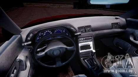 Nissan Skyline R32 GTS-t 1989 [Final] pour GTA 4 Vue arrière