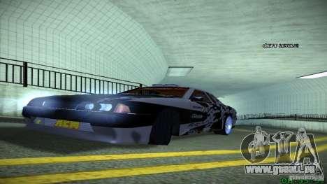 Elegy by LeM pour GTA San Andreas vue arrière