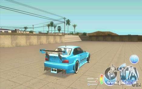 Compteur de vitesse CraZZZy v. diesel 2,2 + limi pour GTA San Andreas