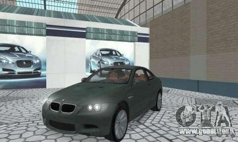 BMW M3 E92 Stock für GTA San Andreas linke Ansicht