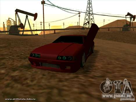 New Elegy pour GTA San Andreas vue de droite