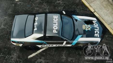 NFSOL State Police Car [ELS] pour GTA 4 est un droit