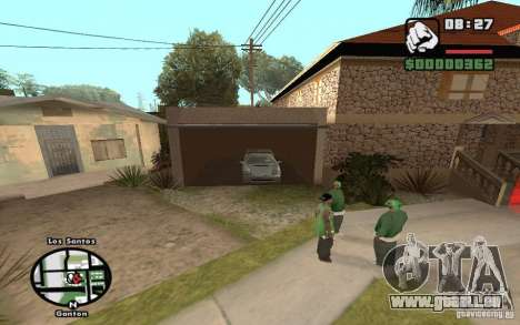 New CJs House pour GTA San Andreas quatrième écran