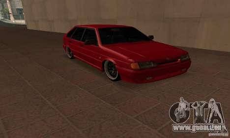 ВАЗ 2114 Dag Style pour GTA San Andreas vue de droite