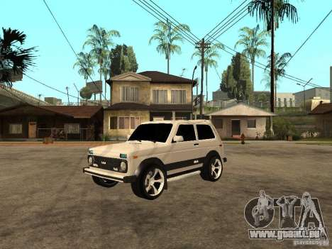 Le Niva VAZ 21213 léger Tuning pour GTA San Andreas
