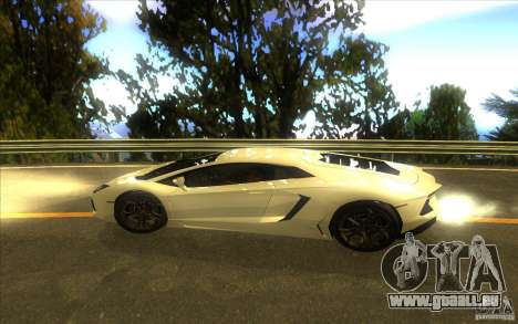 Lamborghini Aventador LP700-4 für GTA San Andreas Innenansicht