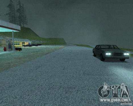 Construction de nouvelles routes à San Fierro pour GTA San Andreas dixième écran