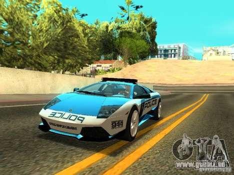 Lamborghini Murcielago LP640 Police V1.0 für GTA San Andreas