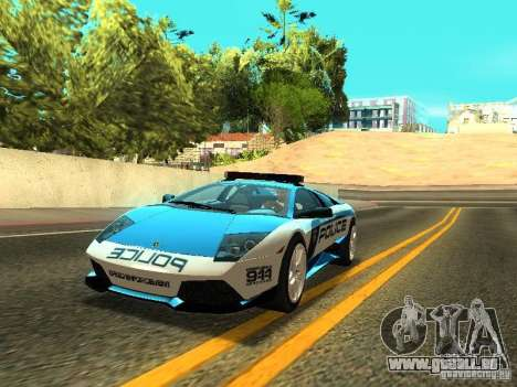 Lamborghini Murcielago LP640 Police V1.0 pour GTA San Andreas
