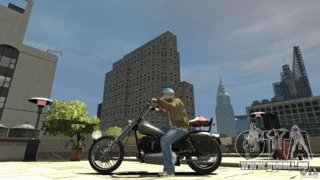 Zombie Bike Paintjob pour GTA 4 est une gauche