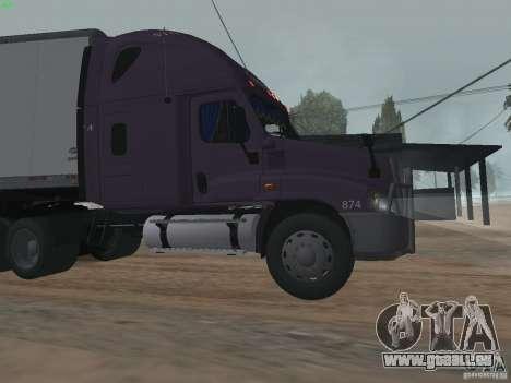 Freightliner Cascadia für GTA San Andreas linke Ansicht
