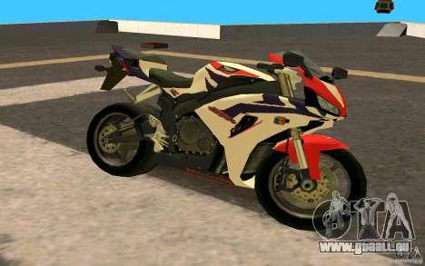 Honda Fireblade 1000RR pour GTA San Andreas