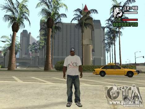 FUck T-shirt pour GTA San Andreas