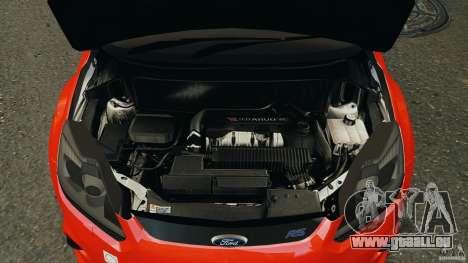 Ford Focus RS pour GTA 4 vue de dessus