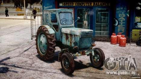 Traktor T-40 m für GTA 4 Rückansicht