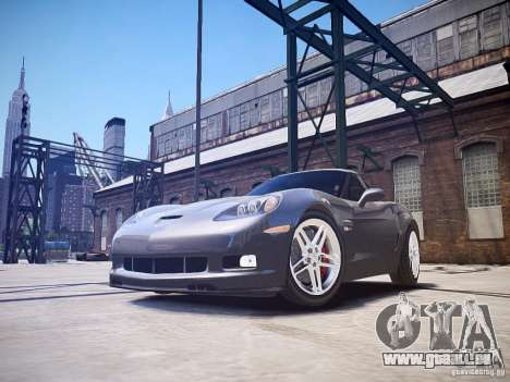 Chevrolet Corvette Z06 pour GTA 4