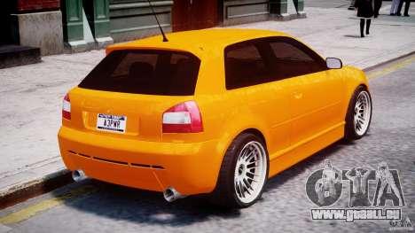 Audi A3 Tuning pour GTA 4 Salon