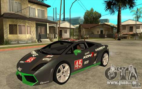 Lamborghini Gallardo LP560 für GTA San Andreas