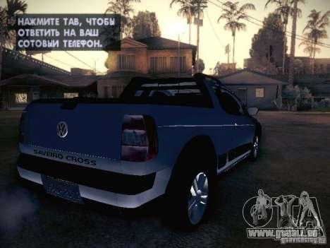 Volkswagen Saveiro Cross für GTA San Andreas rechten Ansicht