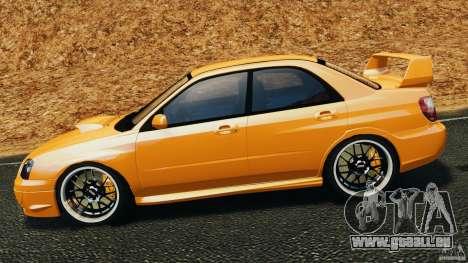 Subaru Impreza WRX STI 2005 pour GTA 4 est une gauche