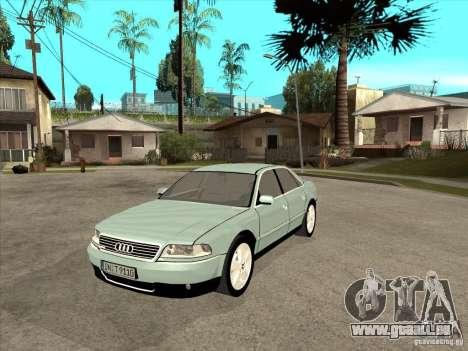 Audi A8 Long 6.0 W12 2002 pour GTA San Andreas laissé vue