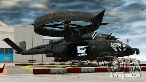 Hélicoptère de transport Samson SA-2 pour GTA 4 est une gauche