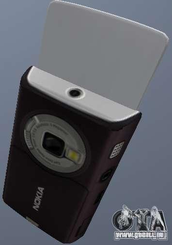 Nokia N95 Mobile pour GTA San Andreas deuxième écran