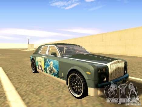 Rolls-Royce Phantom V16 für GTA San Andreas Innen