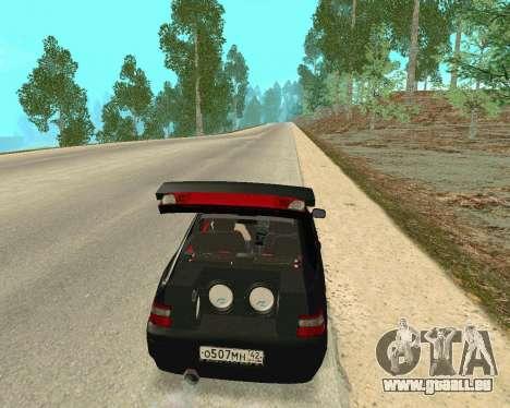 VAZ 21123 für GTA San Andreas Innenansicht