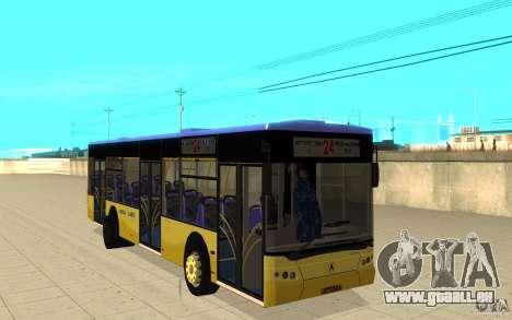 Laz ville Laz-A183 pour GTA San Andreas