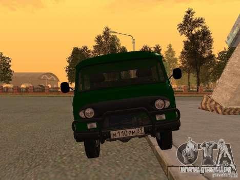 UAZ 39094 pour GTA San Andreas vue de droite