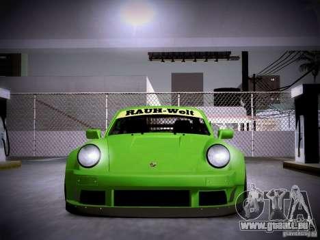 Porsche 911 Turbo RWB Pandora One pour GTA San Andreas vue de côté