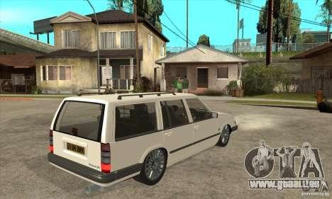 Volvo 945 Wentworth R für GTA San Andreas rechten Ansicht