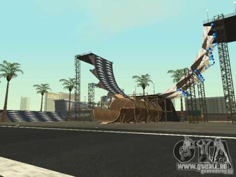 Drift track and stund map pour GTA San Andreas
