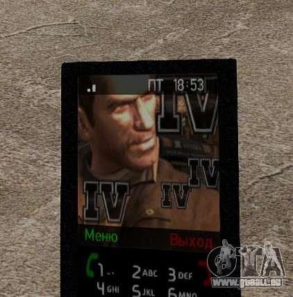 Nouveaux thèmes pour votre téléphone pour GTA 4 dixièmes d'écran