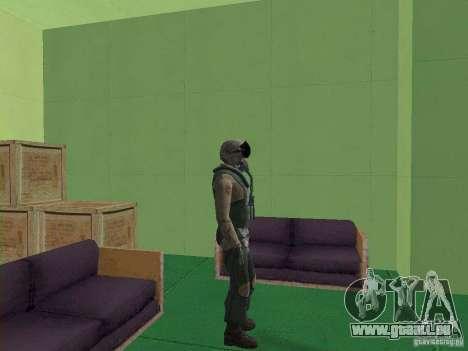 Pilote militaire pour GTA San Andreas quatrième écran