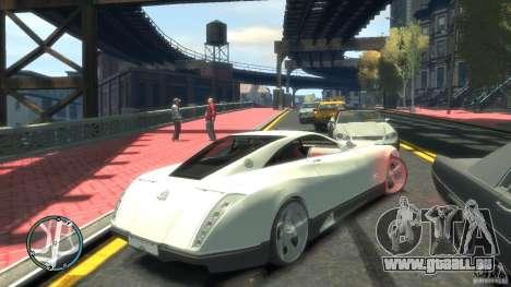 Maybach Exelero pour GTA 4 Vue arrière de la gauche