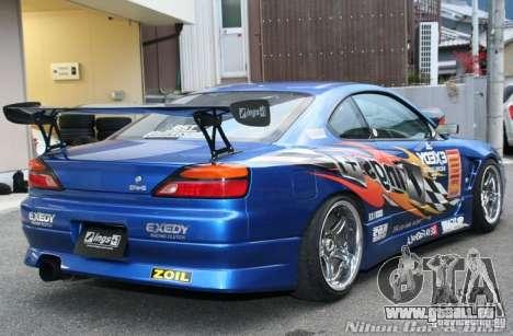 Nissan Silvia INGs +1 pour GTA San Andreas vue de côté