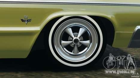 Chevrolet Impala SS 1964 pour GTA 4 Salon