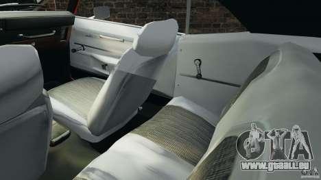 Chevrolet Camaro SS 350 1969 pour GTA 4 est une vue de l'intérieur