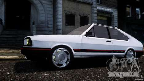 Volkswagen Passat Pointer GTS 1988 Turbo pour GTA 4 Vue arrière de la gauche