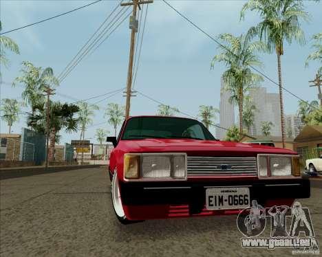 Chevrolet Opala Diplomata 1986 pour GTA San Andreas laissé vue